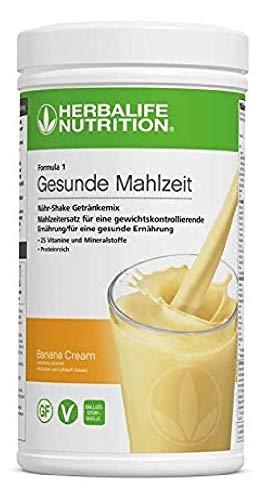 Herbalife fórmula 1 saludable comida nutricionales sabor Platano