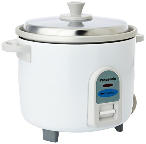 Panasonic SR-WA10 450-Watt Automatic Cooker Without Warmer (White)