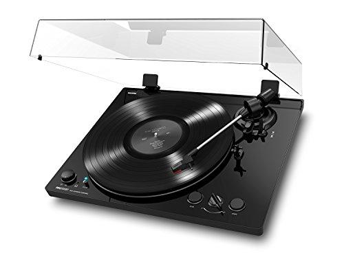 ION Audio PRO100BT - Platine Vinyle à Entrainement Par Courroie Totalement Automatique, Deux Vitesses (33 et 45 Tours), Préampli Phono Commutable et Housse Anti-Poussière