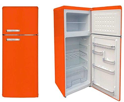 Master CLASS240 Libera installazione 208L A+ Arancione frigorifero con congelatore