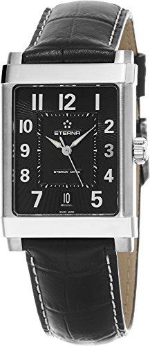 eterna 1935eterna-matic Grande Herren Schwarz Lederband Schweizer Automatik Uhr 8492.41.44.1261