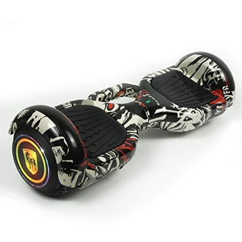 W-star Hoverboard, Scooter Auto-bilanciante da 6,5 Pollici con Motore 2 * 250W, modalità App...