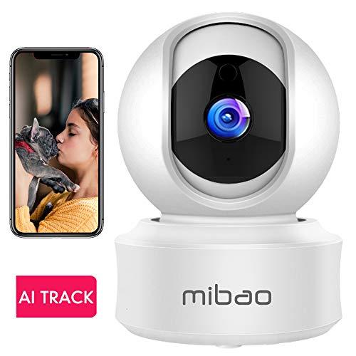 Mibao 1080P Telecamera Sorveglianza Wifi Camera IP Wireless Interno con Visione Notturna,...