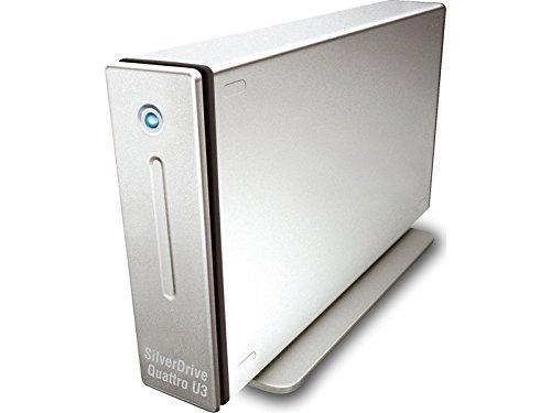 Storeva, SilverDrive Quattro U3 alloggiamento disco rigido 3,5', USB 3.0, eSATA, FW800/400