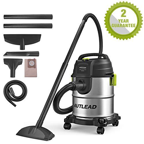 AUTLEAD Aspiratore Solidi-Liquidi/bidone aspiratutto, 1000W 20L, Funzione 3 in 1, Accessorio...