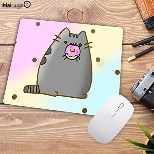 22X18 CM Divertente Simpatico Gatto Animale Modello Piccolo PC Tablet Player Notebook Mouse Pad Decora il tuo Mouse Pad da Computer e Office 22X18 CM