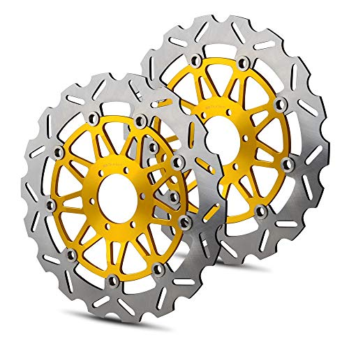 RONGLINGXING Parti Powersports Anteriore Disco freno rotore for Ducati Monster 620 696 750 800 900 996 1000 SS Supersport Sport ST2 ST3 ST4 748 851 888 916 Biposto
