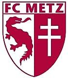 FC METZ - Football Club Crest Logo Wall Poster Print - 30CM X 43CM Brand New Ligue 1