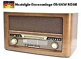 NEWTRO Nostalgie-Stereoanlage CD/UKW Rosie