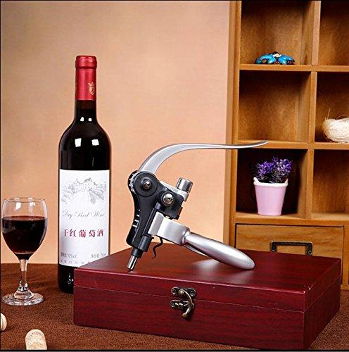 cooko ouvre bouteilles de vin tire bouchon manuel poign e en alliage de zinc ensemble d 39 ouvre. Black Bedroom Furniture Sets. Home Design Ideas