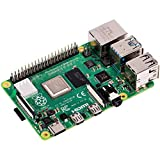 RASPBERRY PI 4 Modell B 4GB ARM-Cortex-A72 4X 1,50 GHz, 4 GB RAM, WLAN-AC, Bluetooth 5, LAN, 4X USB, 2X Micro-HDMI