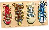 Gioco imparare ad allacciare le scarpe Legler 8158