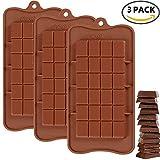 IHUIXINHE 24 cavidades moldes de Silicona para Hielo, Tartas, Chocolate - 100% alimentarias y sin bpa,Apto para Chocolate