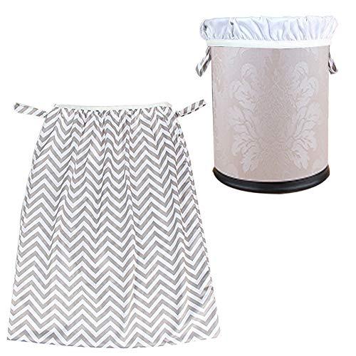Bloomma Sacco della biancheria, Riutilizzabile Pail Liner Trash Can Storage Bag per pannolini vestiti sporchi Baby Wet Bag