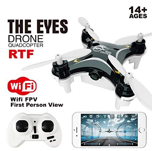 Mini Drone con WiFi FPV HD Camera LED Nano Quadcopter 2.4G 6-Axis Gyro Mobile App Controllo RC Pocket Drone
