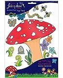Irish Fairy Door Toadstool Decal Pack by The Irish Fairy Door Company