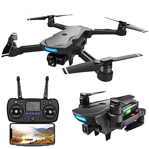 LM Drone con videocamera HD 1080p Quadcopter Funzionamento a Un Solo Pulsante GPS Senza Testa per...