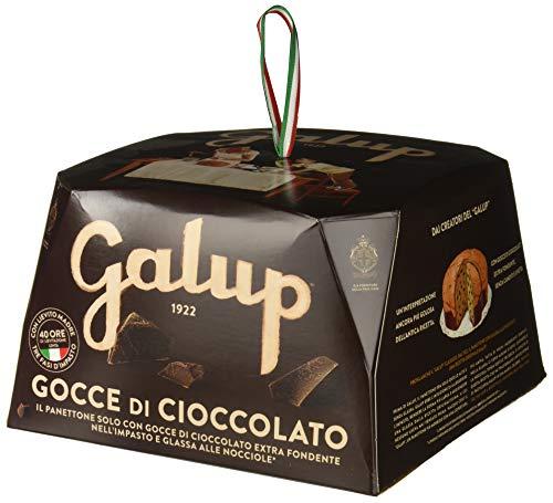 Galup NV07 Panettone Gocce Cioccolato, 750 Gr