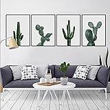 Cuadros De Cactus Modernos Para Decorar La Pared