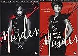 How To Get Away With Murder: Season 1 & Season 2 (8 Dvd) [Edizione: Stati Uniti]