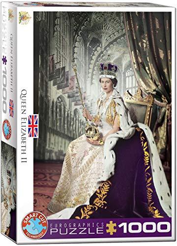 Eurographics 6000–2.334,3cm Regina Elisabetta II puzzle da pezzi
