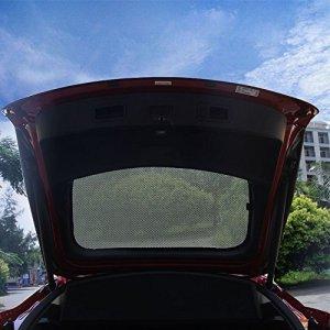 Tesla Model S Rear Window Sunshade