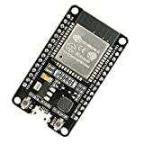 IZOKEE ESP32 ESP32-DEVKITC NodeMCU Modul WiFi + Bluetooth 2-In-1 Dual Core 2,4 GHz ESP-WROOM-32 Chip ESP-32 ESP-32S Development Board, Verlötet