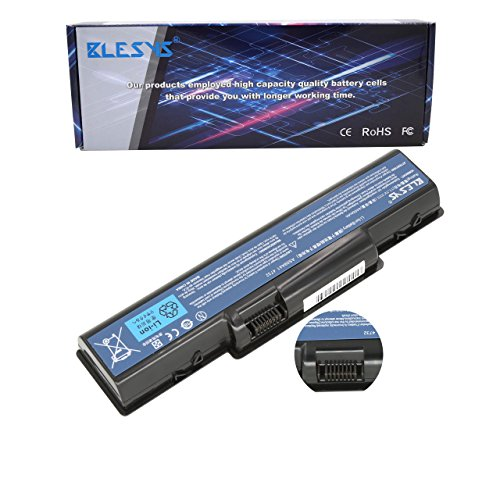 BLESYS - Bateria de laptop Reemplazo para PACKARD BELL EasyNote TJ61 TJ62 TJ63 TJ64 TJ65 TJ66 TJ67 TR81 TR82 TR83 TR85 TR86 TR87 Serie Batería de portátil MS2268 MS2273 MS2274