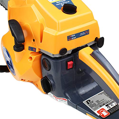 Weighing only 6.8kg, this model is lighter compared to the larger petrol chainsaws but it's still a little heavy compared to some models such as our 'Best Pick' and its certainly much heavier than most cordless and corded models but the extra weight means more power.
