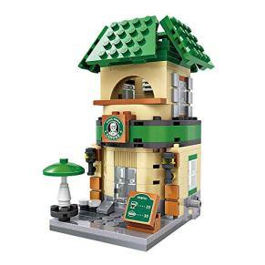 Xpixel Mini Avenue Blocks - Cafetería - Juguete de Construcción - Bloques Tamaño Mini - Construye tu Propia Mini Avenida