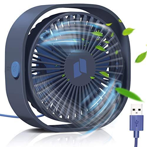 TedGem Ventilatore USB, Mini USB Ventilatore, Ventilatore Silenzioso, Ventilatore Portatile USB, per...