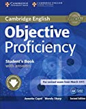 Objective Proficiency 2nd Edition Student's Book with Answers with Downloadable Software