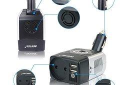 BESTEK Convertisseur Chargeur Allume Cigare Onduleur Transformateur avec 2 Ports USB, 150W 12V 220V – Prise EU prêt à acheter