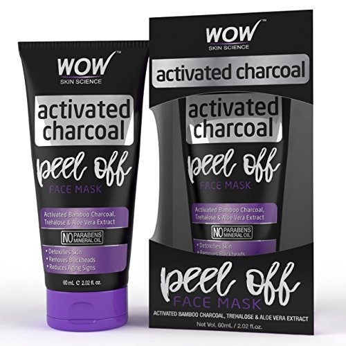 WOW Activated Charcoal Face Mask - Peel Off - No Parabens & Mineral Oils 1  WOW Activated Charcoal Face Mask – Peel Off – No Parabens & Mineral Oils 51 SUgoen L
