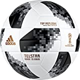 adidas Uni World Cup Top Replique Football, White/Black/Silver Métallisé, 5