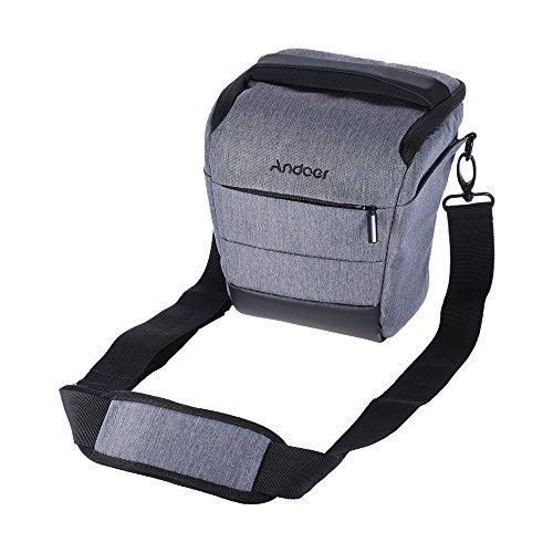 Andoer Borsa Reflex Portatile Borsa a Tracolla Borsetta per Canon Nikon Sony Fujifilm Olympus...