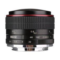 Meike Optics MK - Objetivo Ojo de pez para Montura Sony E (6,5 mm, f2.0)