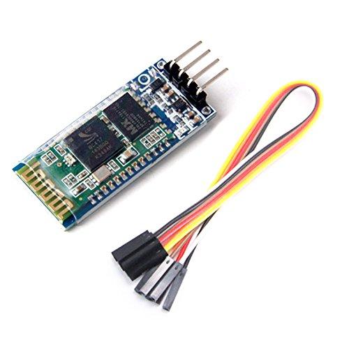 Specifiche del prodotto:Consente al dispositivo di inviare o ricevere sia i dati della TTL tramite la tecnologia Bluetooth senza collegare un cavo seriale al computer.Funziona con tutti gli adattatori Bluetooth USB.Predefinito velocità di tra...