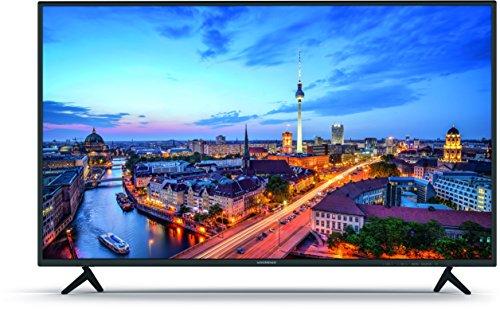 Nordmende FHD 4302 109 cm (43 Zoll) LED Fernseher (Full HD, Triple Tuner, PVR Aufnahmefunktion, CI+, 3x HDMI), schwarz