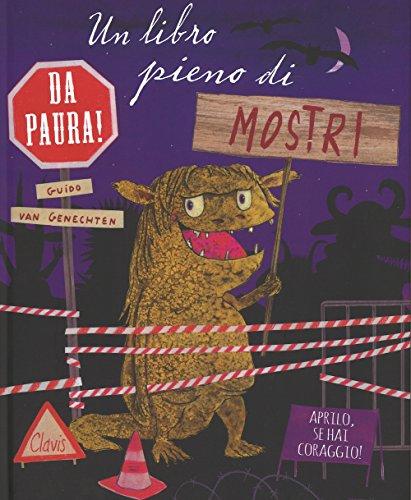 Un libro pieno di mostri da paura. Ediz. a colori