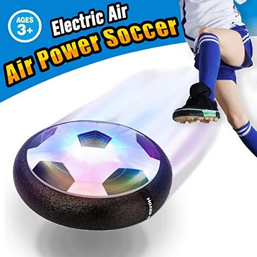 Pallone da Calcio da Casa Fluttuante - VIDEN Air Ball Calcio da Interno con LED Luce, Giocattoli...