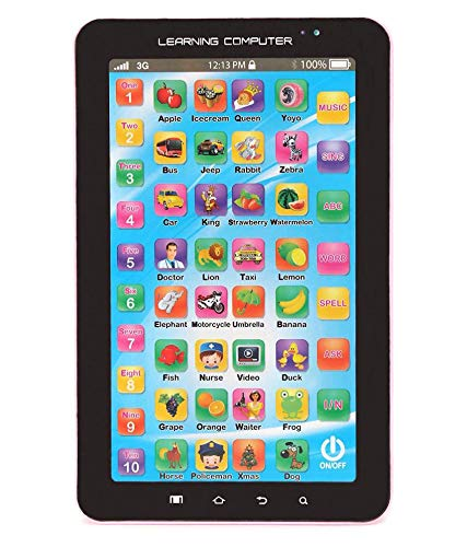 ANG P1000 - Educational Learning Tablet Computer for Kids(Multicolor)