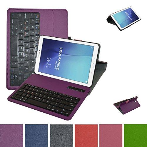 Samsung Galaxy Tab E 9.6 Bluetooth Tastiera Custodia,Mama Mouth Staccabile Bluetooth Tastiera...