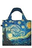LOQI Museum Vincent Van Gogh The Starry Night Bag Borsa da spesa, 50 cm, 20 liters, Multicolore (Multicolour)