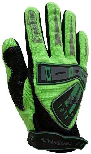 #Kinder Motocross Handschuhe grün Größe 5#