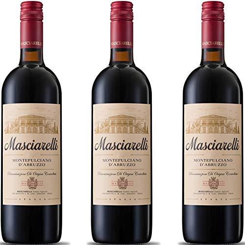 Montepulciano d'Abruzzo DOC | Masciarelli | Vino Rosso Classico | 3 Bottiglie 75 Cl | Idea Regalo