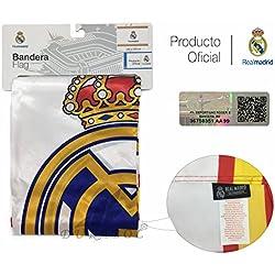 Producto Oficial Real Madrid Bandera del Real Madrid 150X100CM (España)