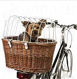 Aumüller Hunde-Fahrradkorb mit Schutzgitter