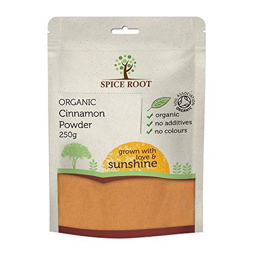 Poudre de Cannelle Organique 250g (organic cinnamon powder) - Qualité Premium, certifié biologique | Vegan