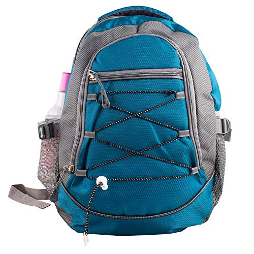 Cocksure Teenager Polyester Light Weight 30 Ltrs Blue School Bag Casual Backpack for Boys or Girls